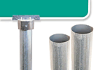 Round Posts for Street Signs