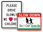 Children Safety Signs