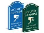 Security Surveillance Signs