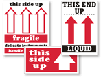 This End Up Labels