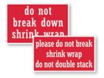 Shrink Wrap Labels