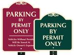 Parking Permit Sign