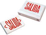Spanish Exit Signs | Salida Signs