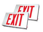 Steel Exit Signs