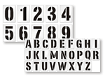 Stencil Kit to Assign Each Space