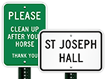 Reflective Metal Signs