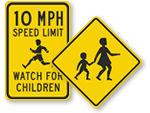 Watch for Children Signs