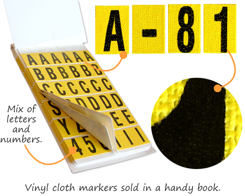 Number letter kits ship free from smartsign number letter books spiritdancerdesigns Gallery