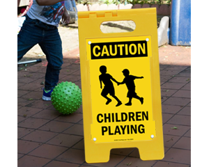 Caution Children at Play Signs