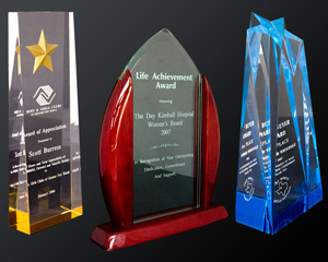 Customizable Acrylic Awards