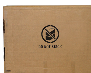 Do Not Stack Shipping Stencil