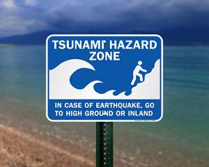 Tsunami Warning Signs