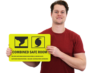 FEMA Safe Room Signs