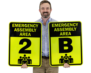 Evacuation Assembly Area Signs
