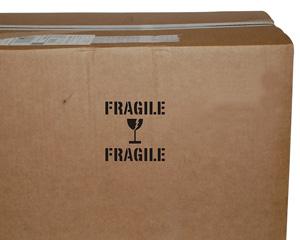 Fragile Shipping Stencil