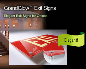 GrandGlow Exit Signs