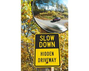 Hidden drive signs
