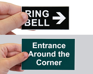 Mini Engraved Signs (up to 3 Inch high)