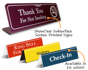 OfficePal™ Tent Signs