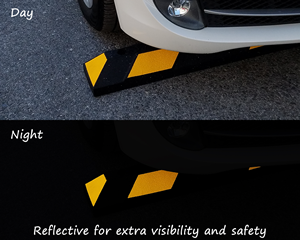 Reflective Parking Stops