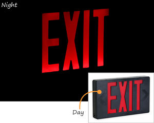 Reflective LED Exit Signs