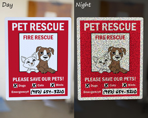 Pet Alert, Fire Rescue, Please Save Our Pets!