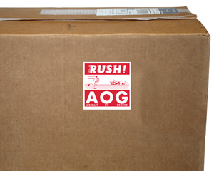 Rush AGO Shipping Labels
