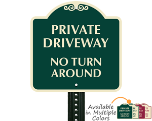 Signature Signs available in multiple colors