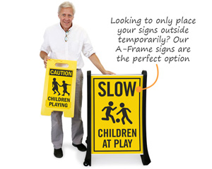 Bigboss Slow Down for Children Signs