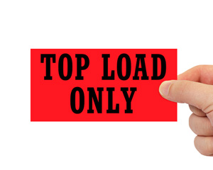 Top Load Only Fluorescent Label