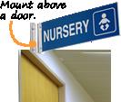 Above Door Signs