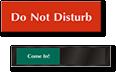 Do Not Disturb Signs