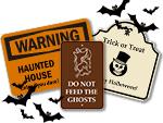 Custom Halloween Signs