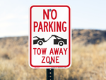 Tow Away Signs - Customer Favorites