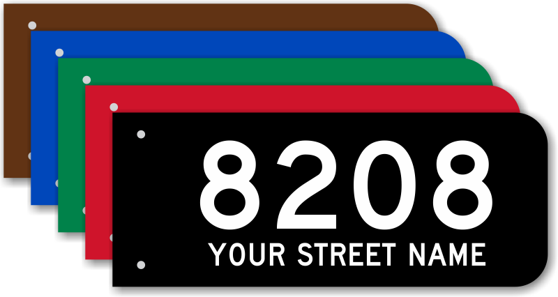911 Address Signs Free Fast Shipping From Smartsign