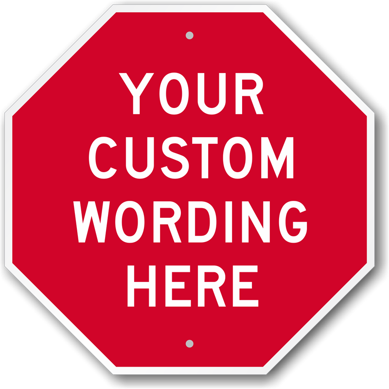 custom facility signs best selling long lasting ships free