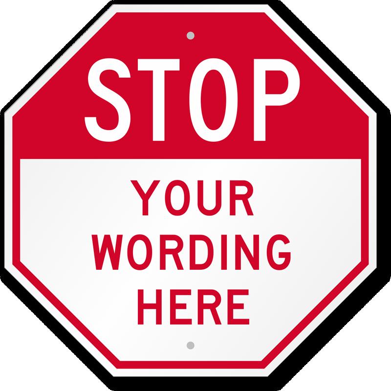 Transformative image with regard to free printable custom signs