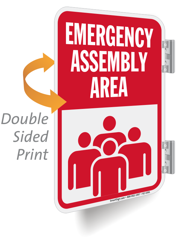 emergency evacuation and assembly area
