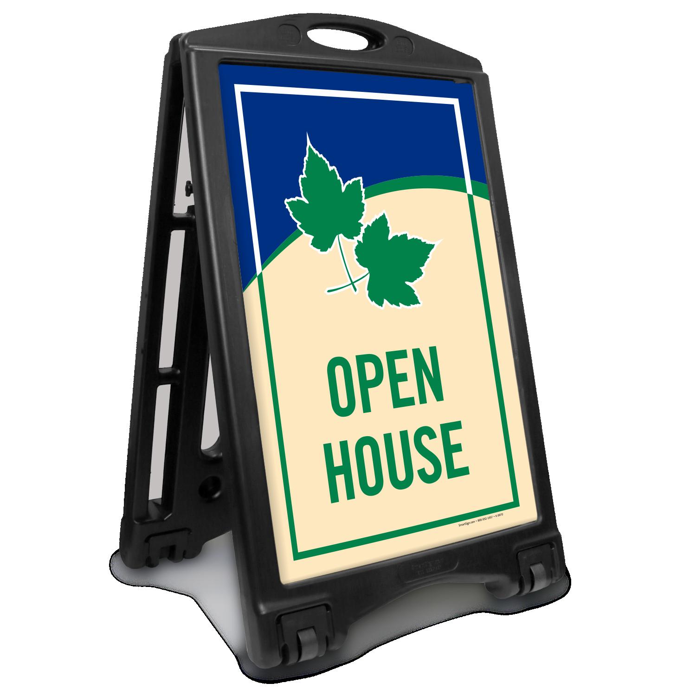 Open House Sidewalk Sign | A-Frame Portable Sign, SKU: K-Roll-1020