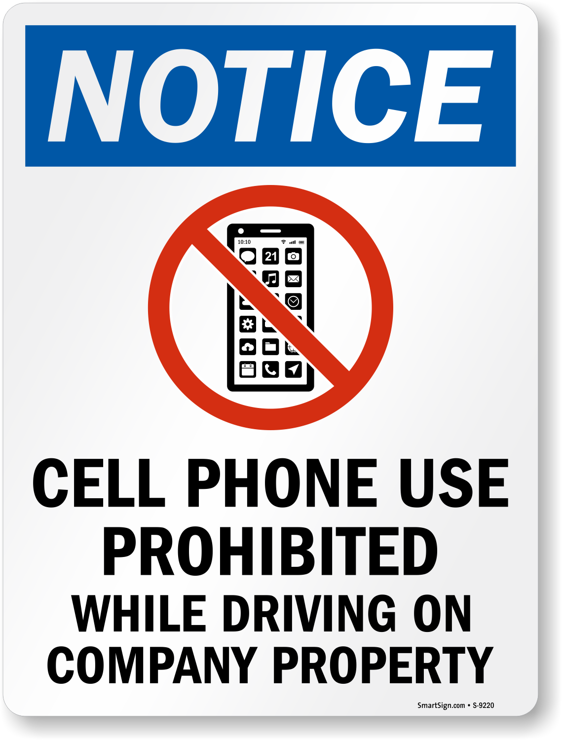 should cell phones prohibited while driving essay Ban cell phone use while driving cell phones have become an essential property for many people they have become part of our modern society, a status symbol the capabilities to stay in touch with family, business members and to email are just a small handful of reasons to own a cell phone.