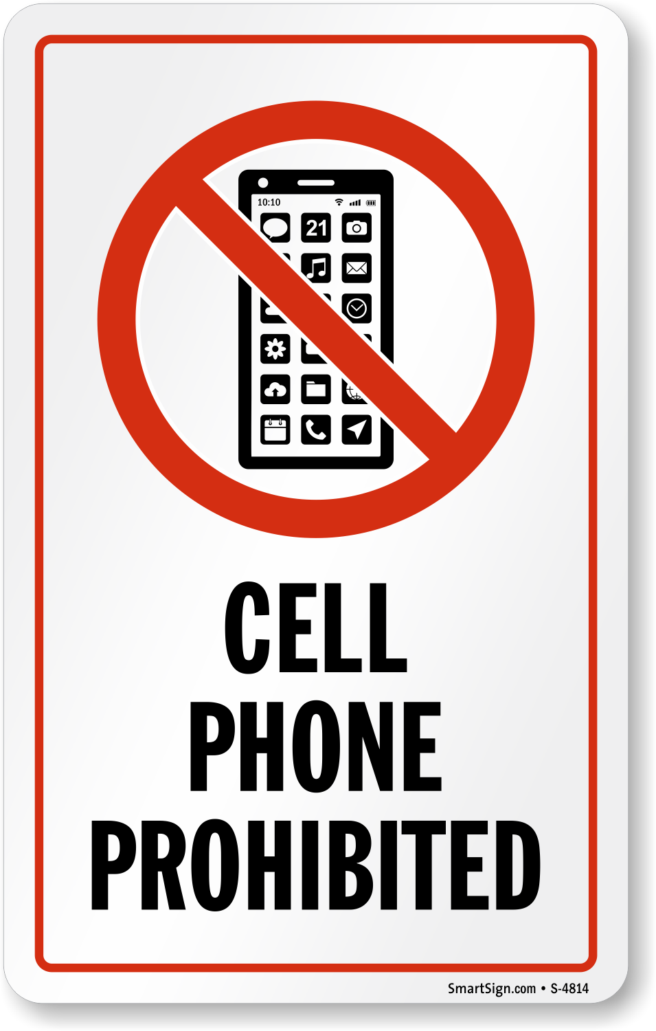 Image result for cellphone warning signs