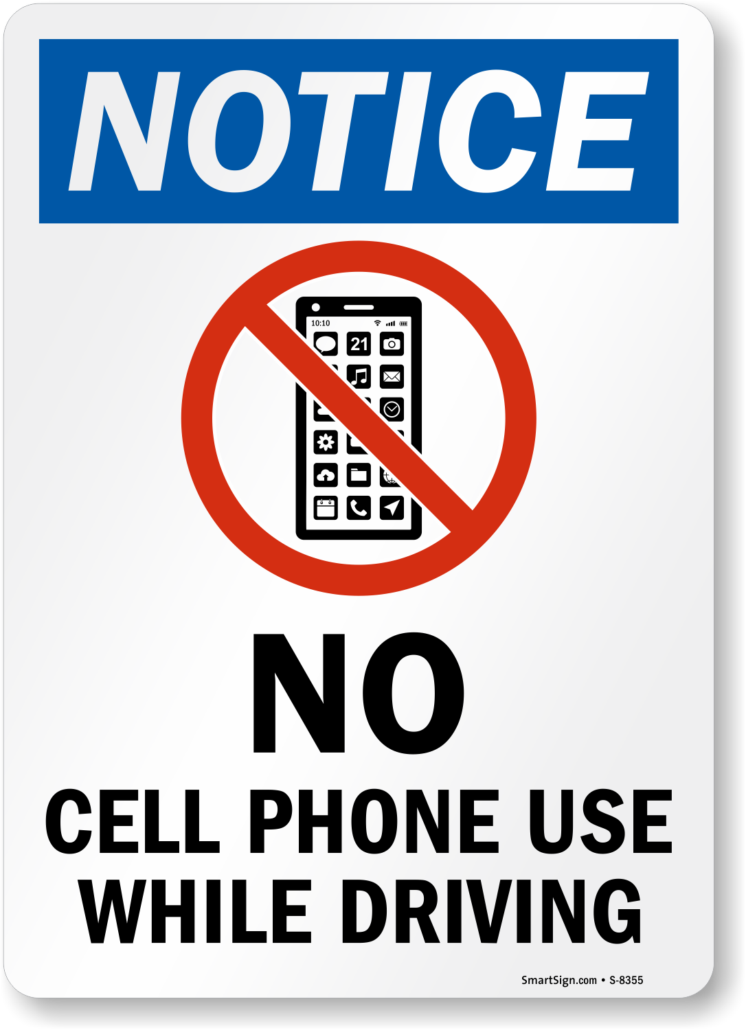 graphic relating to No Cellphone Sign Printable called no mobile cell phone signal printable -