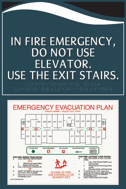 Evacuation Map Holders From Smartsign