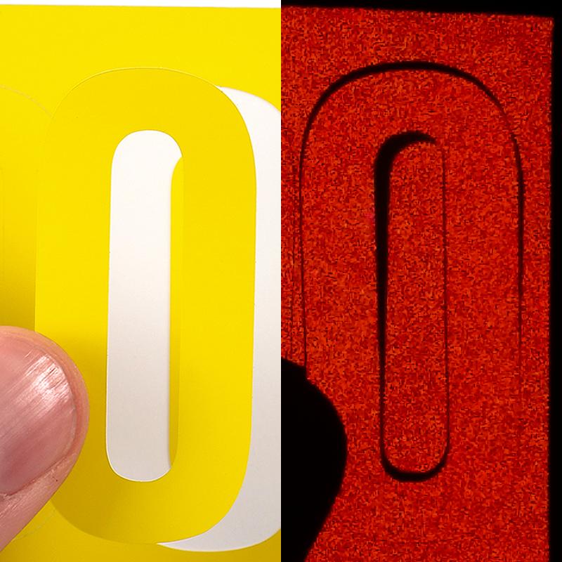 Two Inch Die Cut Vinyl Numbers Label Sheet Sku Nl 2 0 Numb