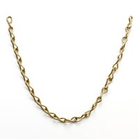 No 16 Brass Jack Chain (5 in. length/tag)