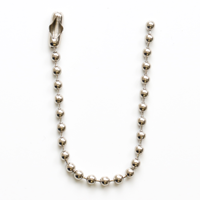 Number 6  Beaded Chain