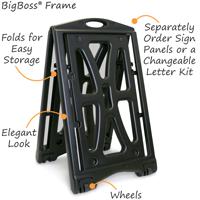 BigBoss Pro Sign Frame