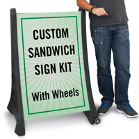 Upload Any Design Custom BigBoss Standard Sign Kit