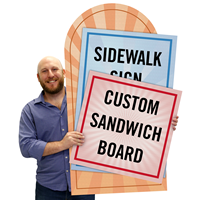 Upload Any Design Custom Standard Sign Panel