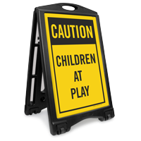 Children At Play Sidewalk Sign Kit